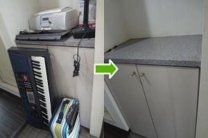 岡山市北区でキーボード、ポットなど家電回収ご依頼の写真