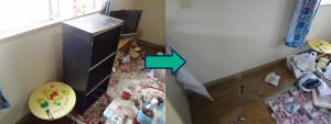岡山市北区で冷蔵庫、洗濯機など回収の写真