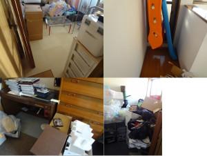 岡山市中区で家具家電回収の写真1