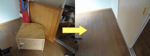 岡山市でエアコンやカラーボックス等の回収の画像2