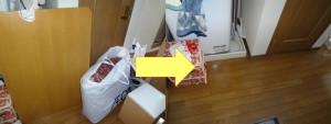 岡山市でテレビやこたつの回収のお客様の画像