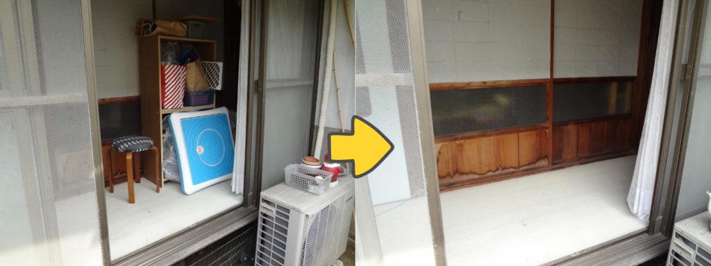 岡山市北区にて、棚、炊飯器など回収のお客様3
