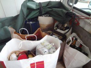 岡山市内で家庭ゴミの回収のご依頼2