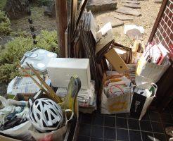 岡山市北区広瀬町で軽トラ1台分程度の不用品処分 施工事例紹介
