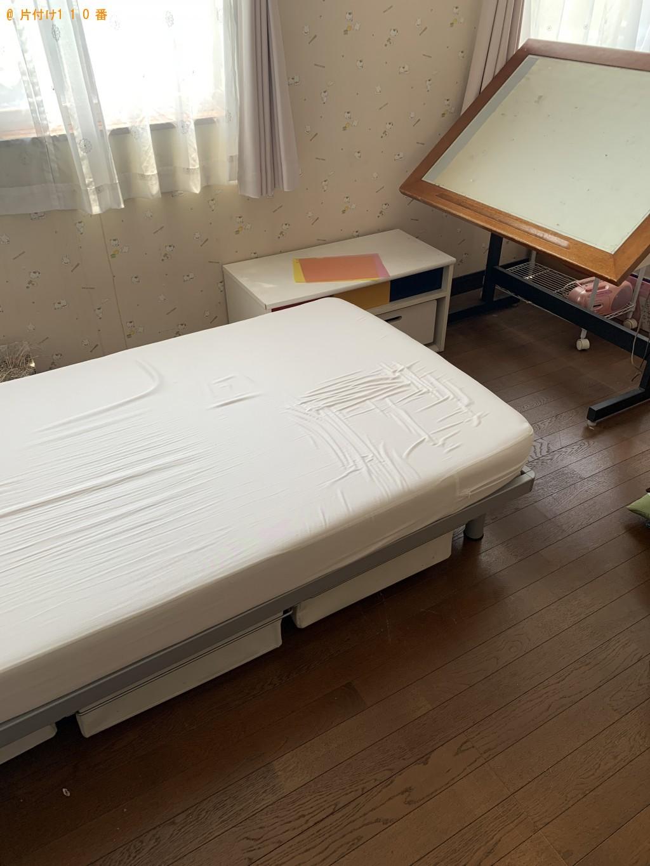 【岡山市】タンス、シングルベッド、ベッドマットレス等の回収・処分