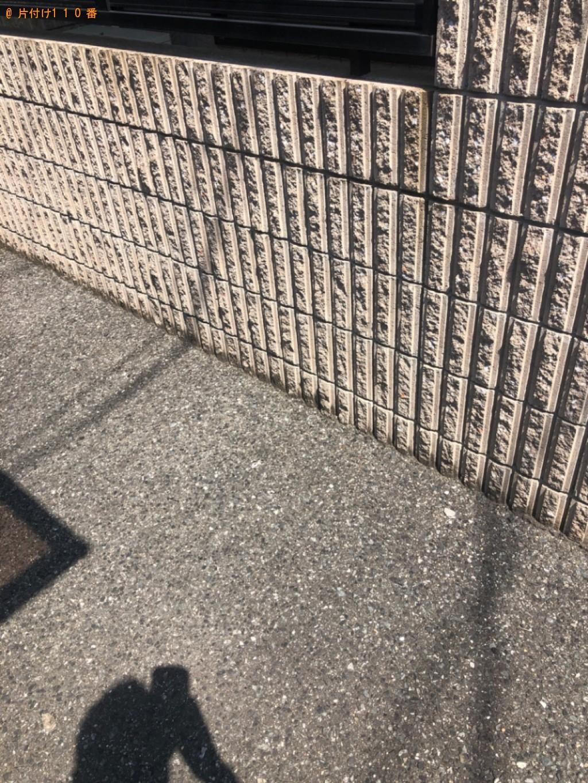 【岡山市】空き瓶、ガラス、カーペット、すのこの回収・処分ご依頼