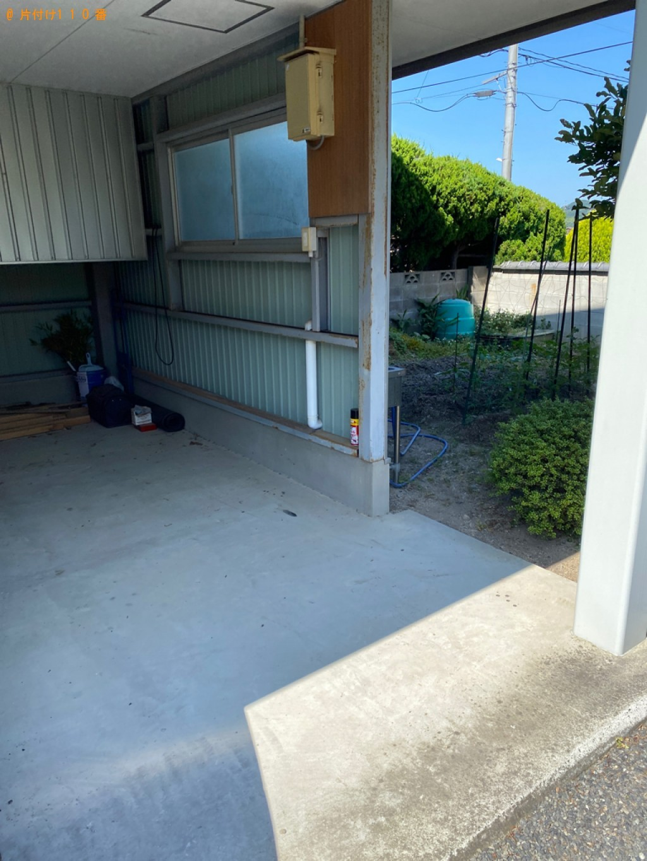 【岡山市東区】クイーンサイズマットレス、シングルベットの回収