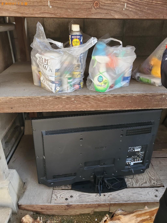 【瀬戸内市牛窓町】テレビ、倒木、スプレー缶等の回収・処分ご依頼