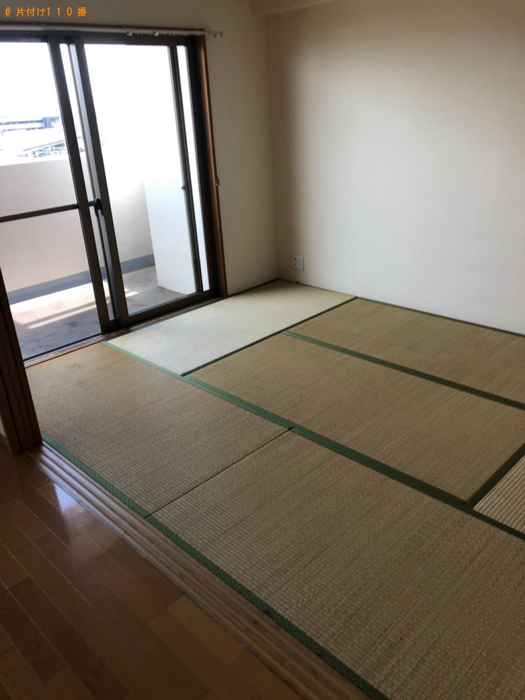 【岡山市北区】カーペット、ウレタンマットレス、ソファー等の回収