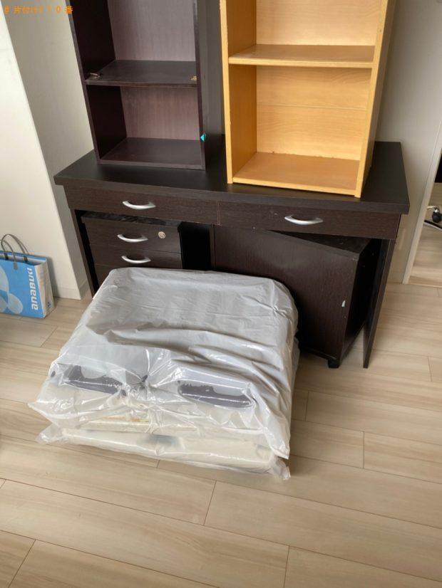 【玉野市】遺品整理でシングルベッドマットレス、ソファー等の回収・処分