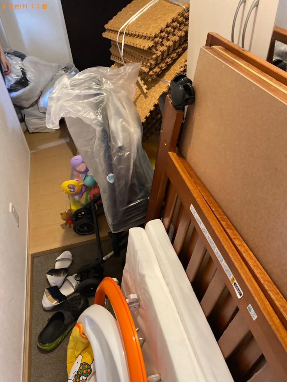 【倉敷市】ベビー用歩行器、ベビーベッド、ベビーカー等の回収・処分