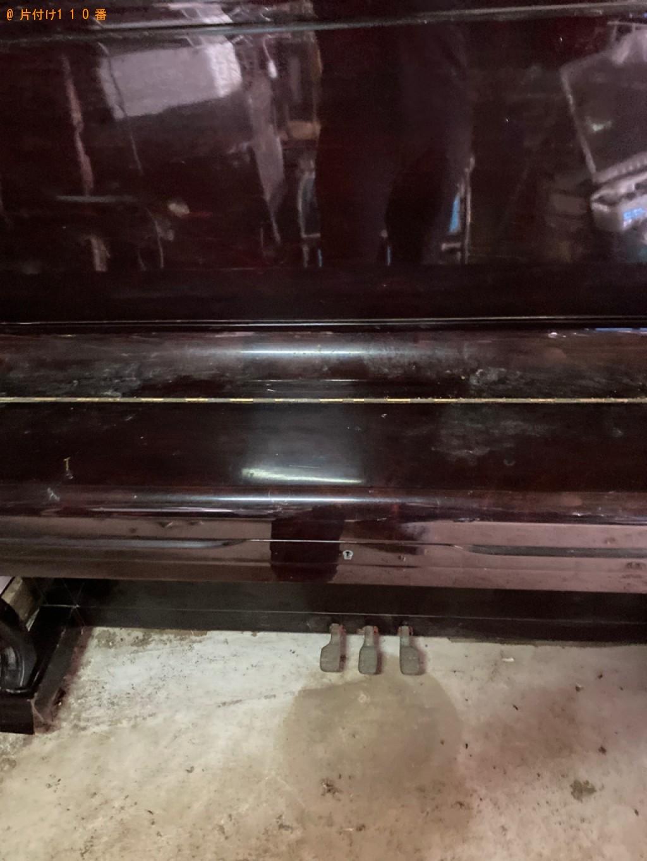 【赤磐市】アップライトピアノの回収・処分ご依頼 お客様の声