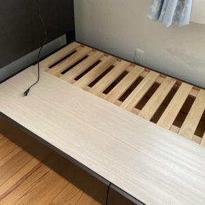 【倉敷市】シングルベッド、カラーボックス、テレビ台等の回収・処分