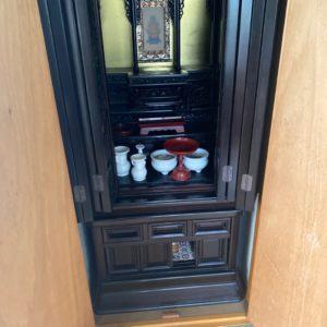 【岡山市中区】仏壇、仏具の回収・処分ご依頼 お客様の声