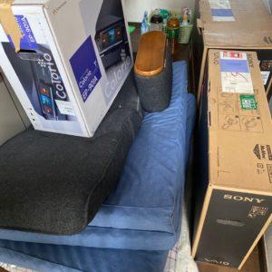 【倉敷市】デスクトップパソコン、シングルベッドマットレスの回収