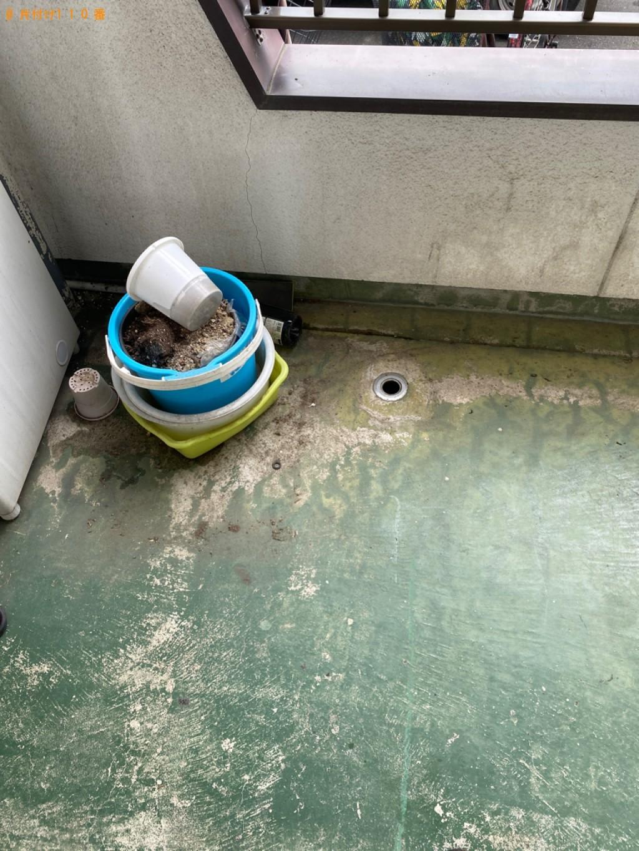 【岡山市北区】洗濯機、シングルベッド、クローゼット等の回収・処分