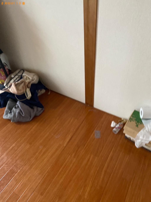 【岡山市北区】遺品整理に伴い洗濯機、シングルベッド、クローゼット等の回収・処分