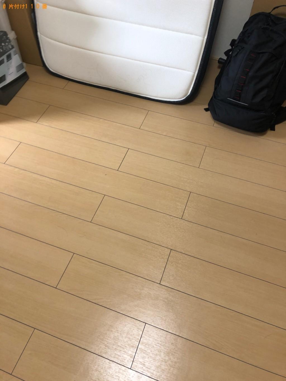 【倉敷市】シングルベッドの回収・処分ご依頼 お客様の声