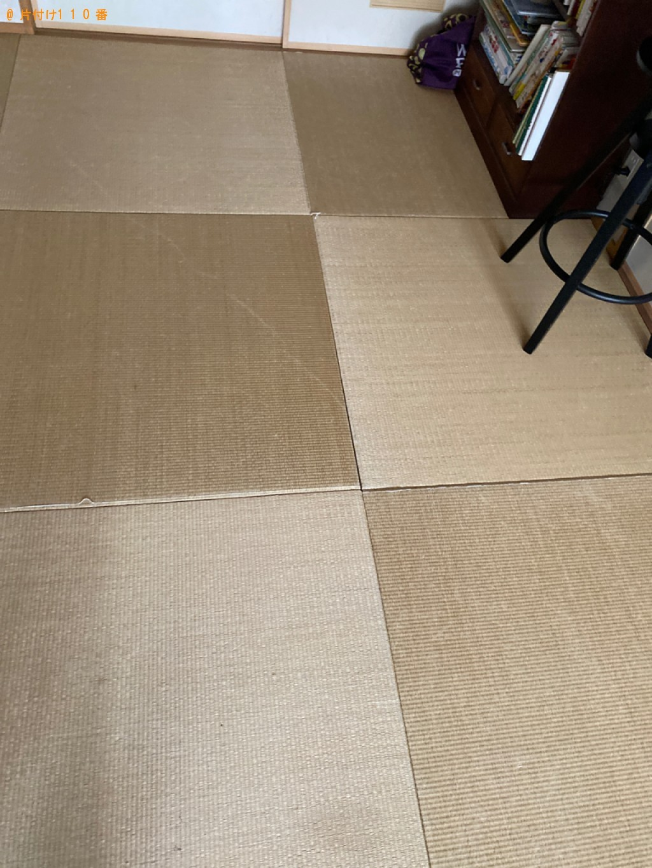 【岡山市北区】三人掛けソファーの回収・処分ご依頼 お客様の声