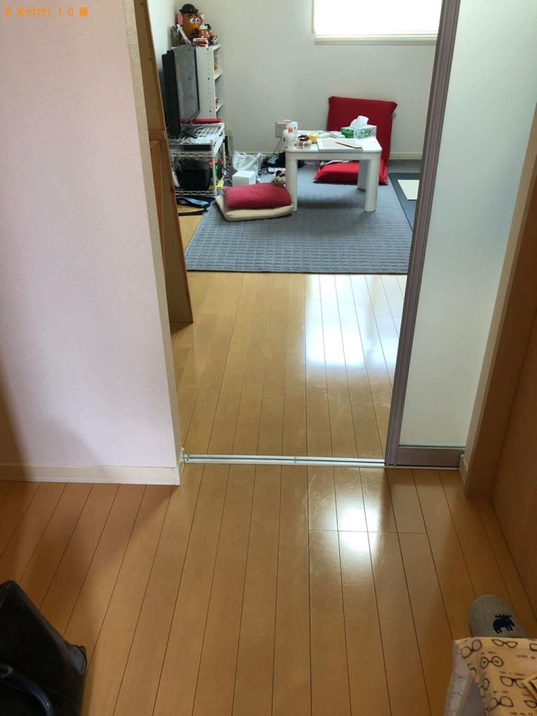 【岡山市北区】シングル脚付マットレスの回収・処分ご依頼