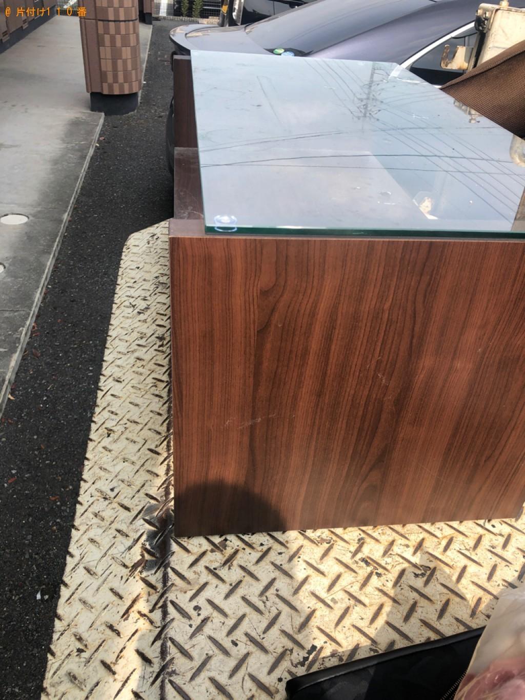 【倉敷市日吉町】ガラステーブル、小型家電等の回収・処分ご依頼