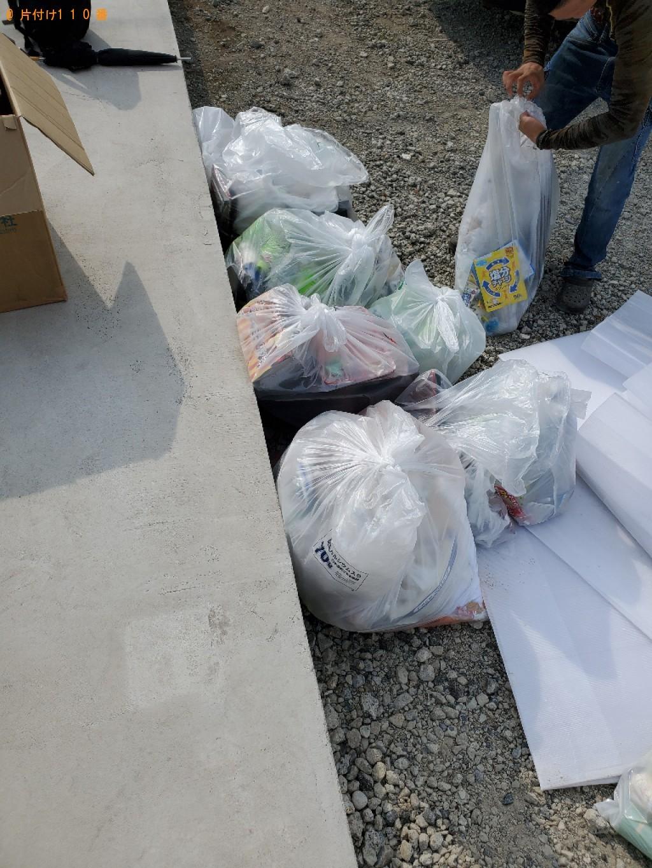 【岡山市北区】一般ごみの回収・処分ご依頼 お客様の声