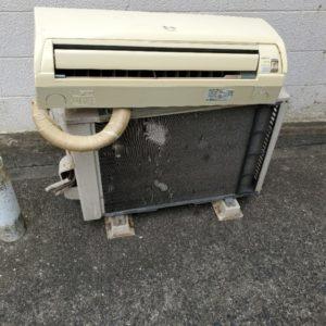 【倉敷市】エアコン、給湯器の撤去・回収・処分ご依頼 お客様の声