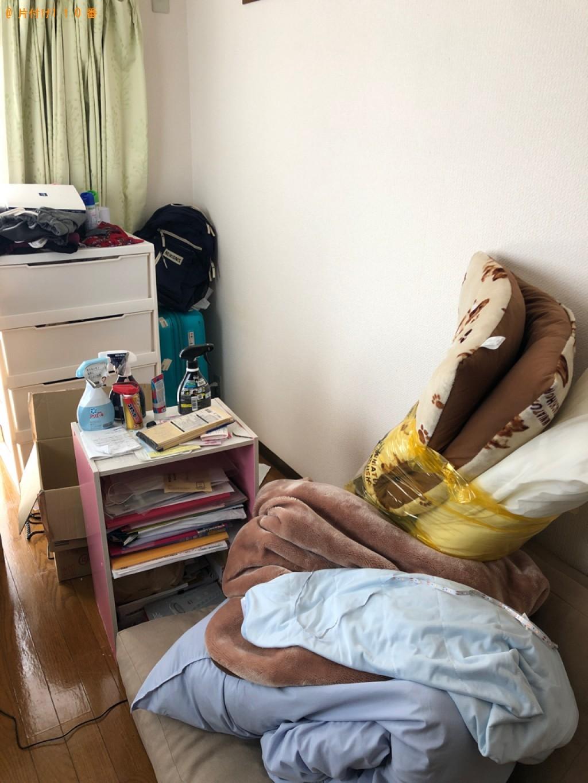 【岡山市北区】シングルベッドの回収・処分ご依頼 お客様の声
