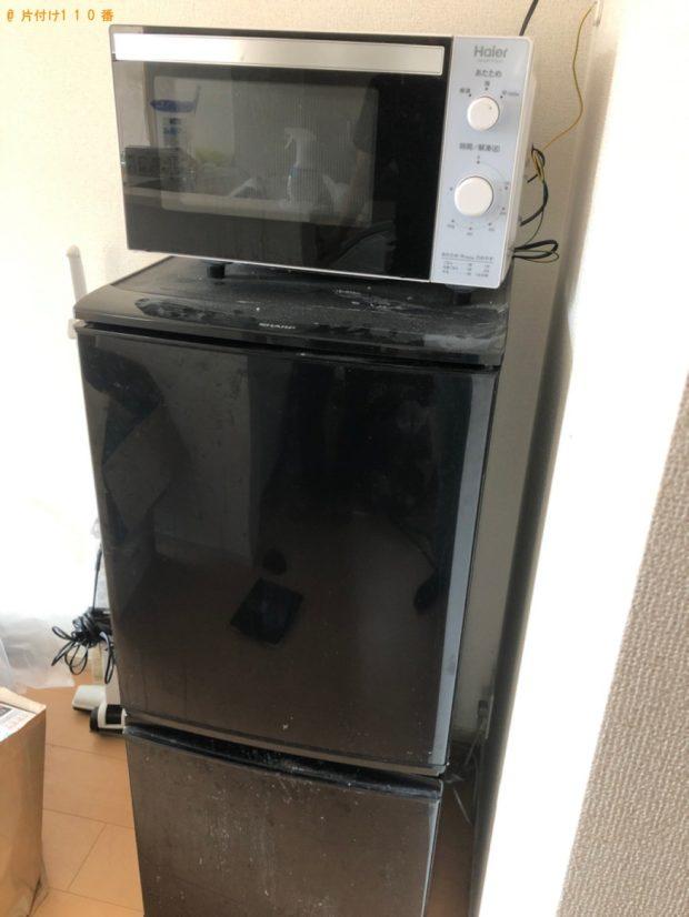 【津山市】遺品整理で冷蔵庫、電子レンジ等の回収・処分ご依頼 お客様の声
