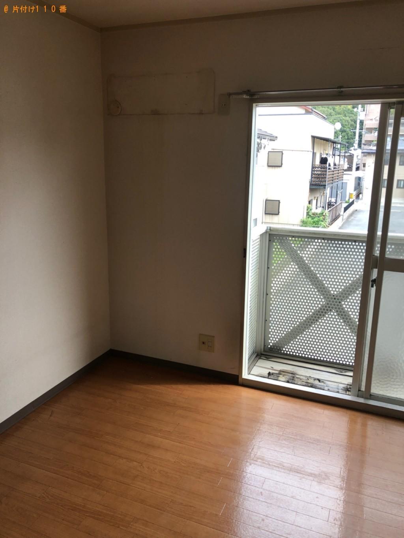 【倉敷市】エアコン、本棚、食器棚、カラーボックス等の回収・処分