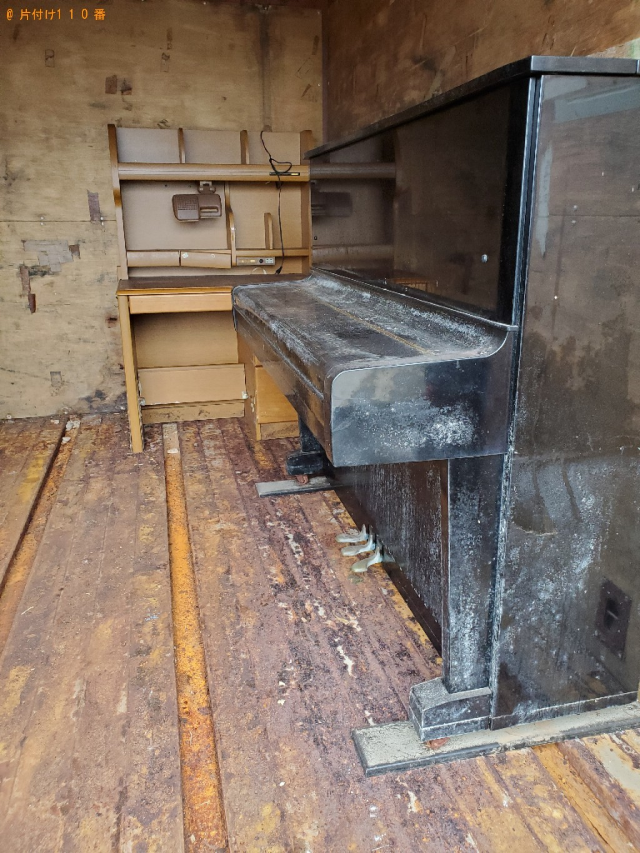 【倉敷市】学習机、ピアノの回収・処分ご依頼 お客様の声
