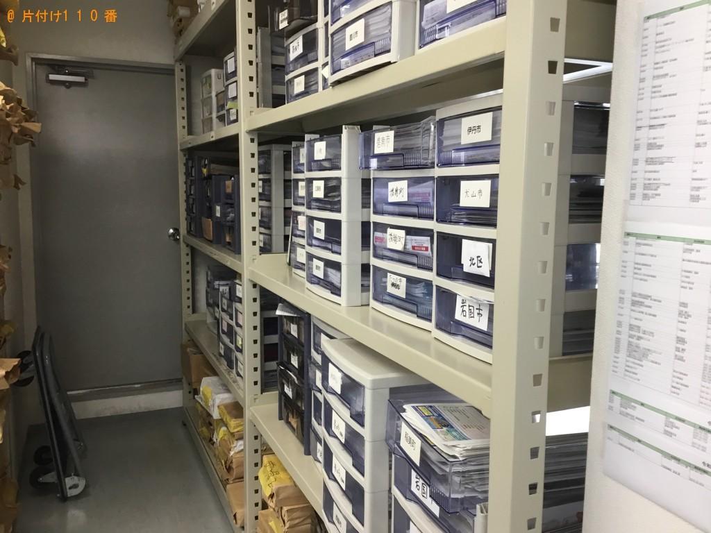 【岡山市】業務用収納棚の回収・処分ご依頼 お客様の声