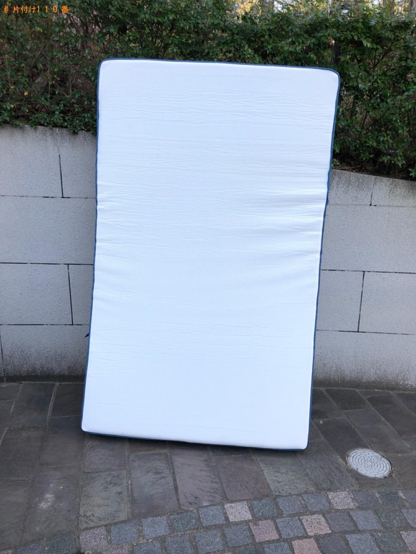 【岡山市】セミダブルマットレス、枕の回収・処分ご依頼 お客様の声