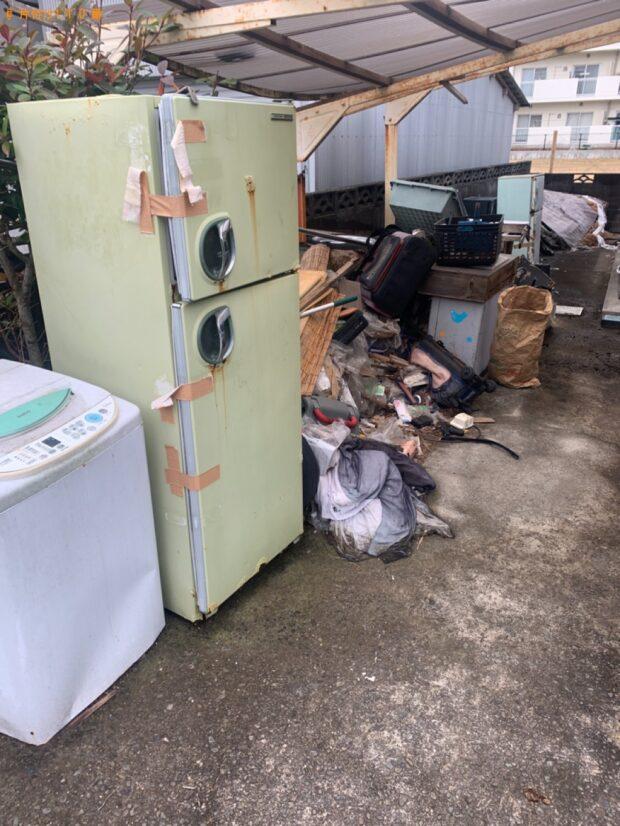 【岡山市】冷蔵庫、洗濯機、自転車等の回収・処分ご依頼 お客様の声
