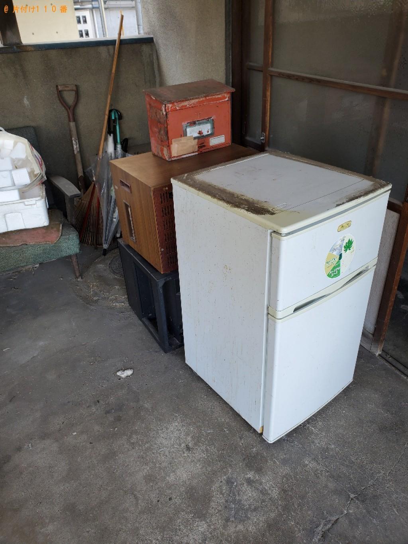 【岡山市中区】扇風機、カゴ、衣装ケース、ダンボール等の回収