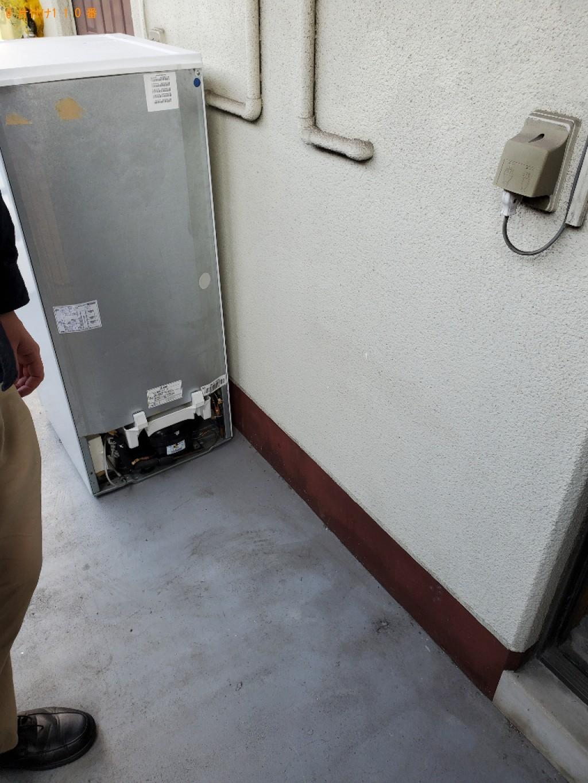 【岡山市北区】冷蔵庫、本棚、カラーボックス、掃除機等の回収・処分