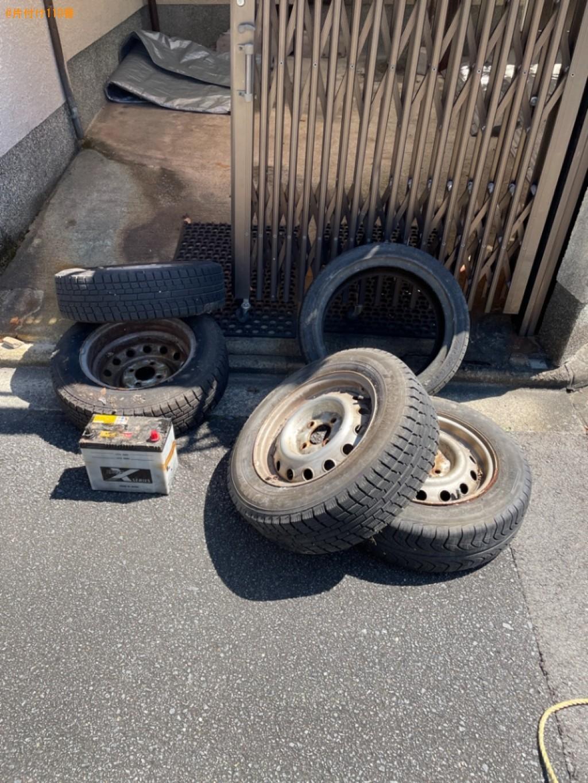 自動車タイヤ、布団の回収・処分ご依頼 お客様の声