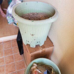 【岡山市北区】冷蔵庫、冷蔵庫、鉢植え、椅子等の回収・処分ご依頼