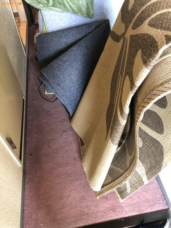 カーペット、二人掛けソファー、布団の回収・処分ご依頼 お客様の声